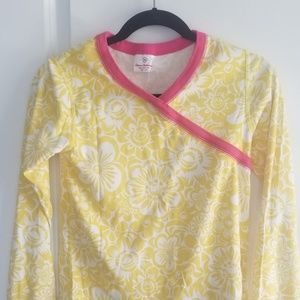 Womens Hanna Andersson xs pajama top mommy and me*